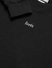 Forét - OX SWEATSHIRT - basic-sweatshirts - black - 2