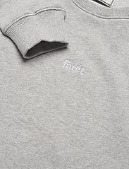 Forét - OX SWEATSHIRT - basic-sweatshirts - light grey melange - 2