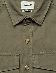 Forét - GONE SHIRT CAMO - odzież - slate - 3