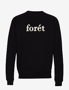 SPRUCE SWEATSHIRT - BLACK/WHITE