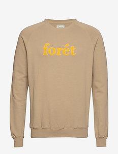 SPRUCE SWEATSHIRT - bluzy i swetry - khaki/yellow