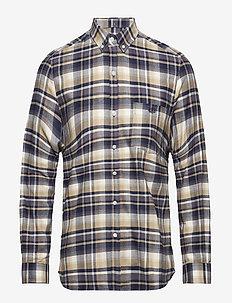 BIRCH SHIRT - rutede skjorter - navy/khaki