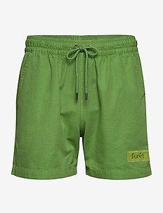 ROOT SHORTS - OLIVE - krótkie spodenki - green