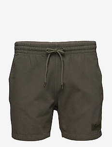 ROOT SHORTS - OLIVE - casual shorts - olive