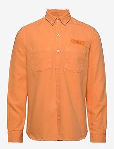 BEAR SHIRT - overshirts - peach