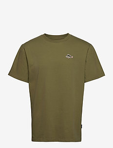 FISH T-SHIRT - OLIVE - basic t-shirts - olive