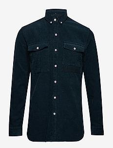 FROG SHIRT - avslappede skjorter - petrol
