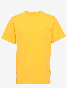 AIR T-SHIRT - MIDNIGHT BLUE - YELLOW