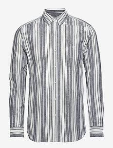 DESERT SHIRT - FLAME - kortermede skjorter - white/black