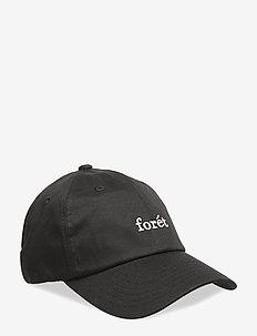 RAVEN - BLACK - caps - black