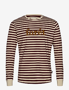 TIMBER LONGSLEEVE - CREAM/WINE