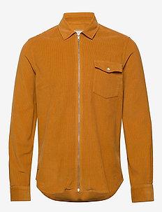 PATROL ZIP SHIRT - overshirts - tan