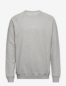 OX SWEATSHIRT - podstawowe bluzy - light grey melange