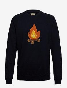 HEAT SWEATSHIRT - sweatshirts - navy