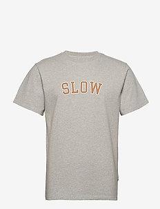 EASE - t-shirts - light grey mel