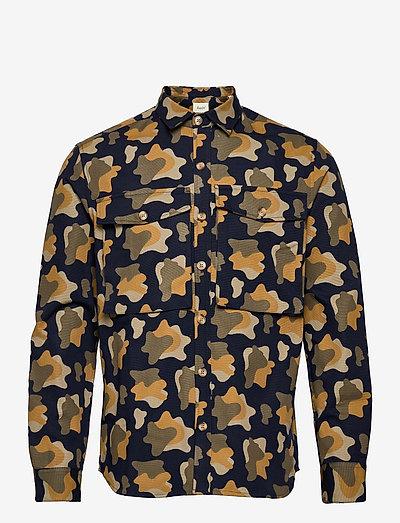 GONE SHIRT CAMO - koszule w kratkę - slate
