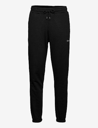 CATTLE SWEATPANTS - kläder - black