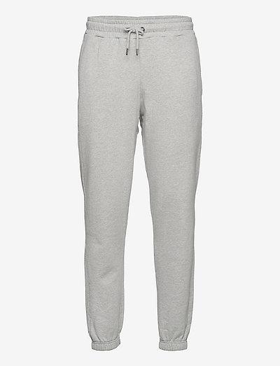 CATTLE SWEATPANTS - vêtements - light grey mel