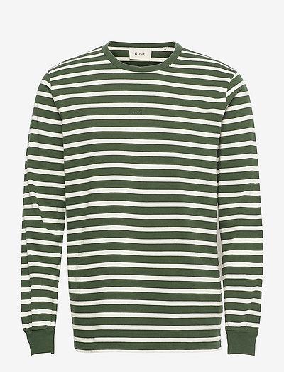 NOSTALGIA LONGSLEEVE - långärmade t-shirts - dark green/cloud