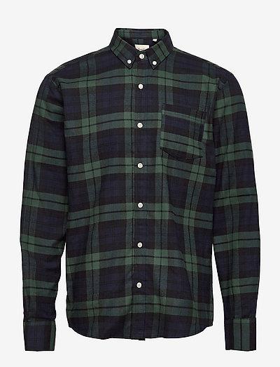 HORNET SHIRT - koszule w kratkę - blue