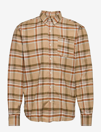 HORNET SHIRT - linnen overhemden - khaki/army