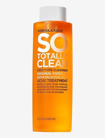 Formula 10.0.6 So Totally Clean - Deep Pore Cleanser - rengöringsgel - no colour