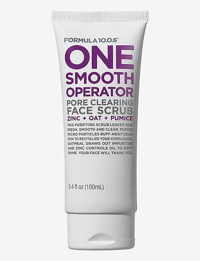 Formula 10.0.6 One smooth Operator - Face Scrub - peeling - no colour