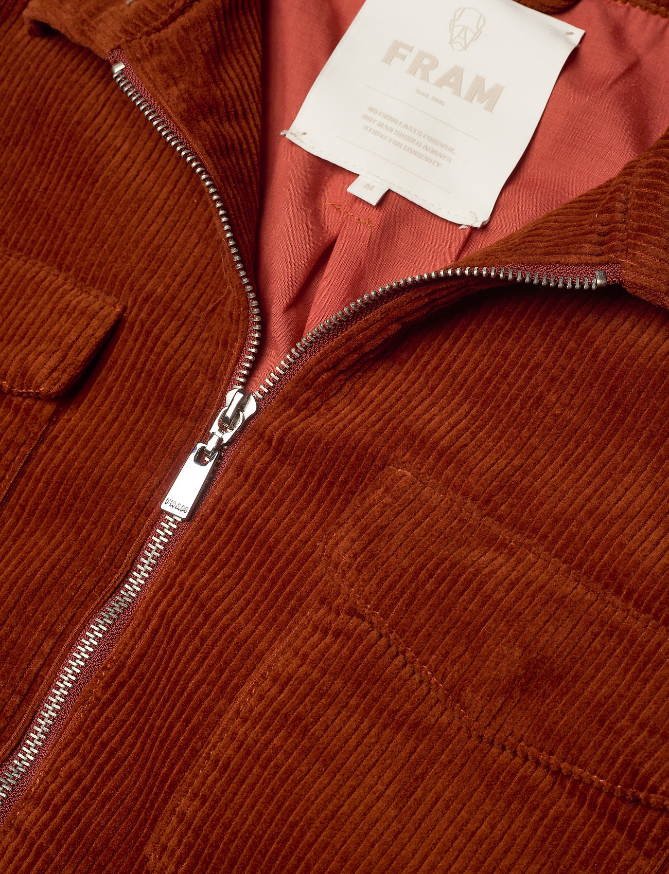 FRAM - Oscar Cord Jacket - jeansjacken - auburn - 1