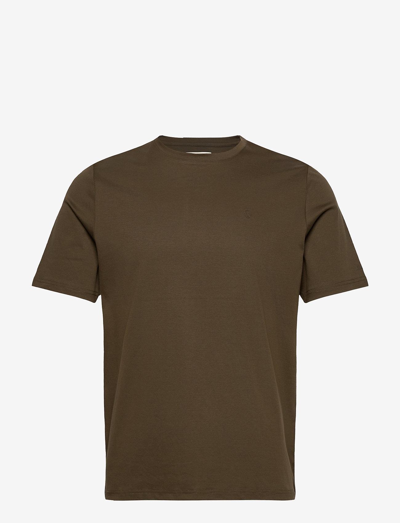 FRAM - FRAM Basic Tee - basic t-shirts - olive - 0