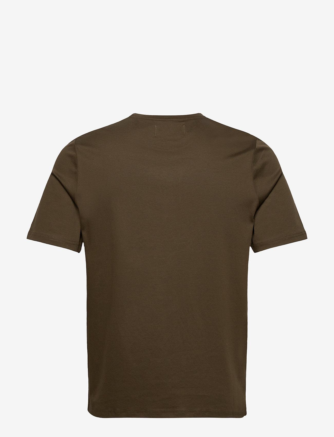 FRAM - FRAM Basic Tee - basic t-shirts - olive - 1