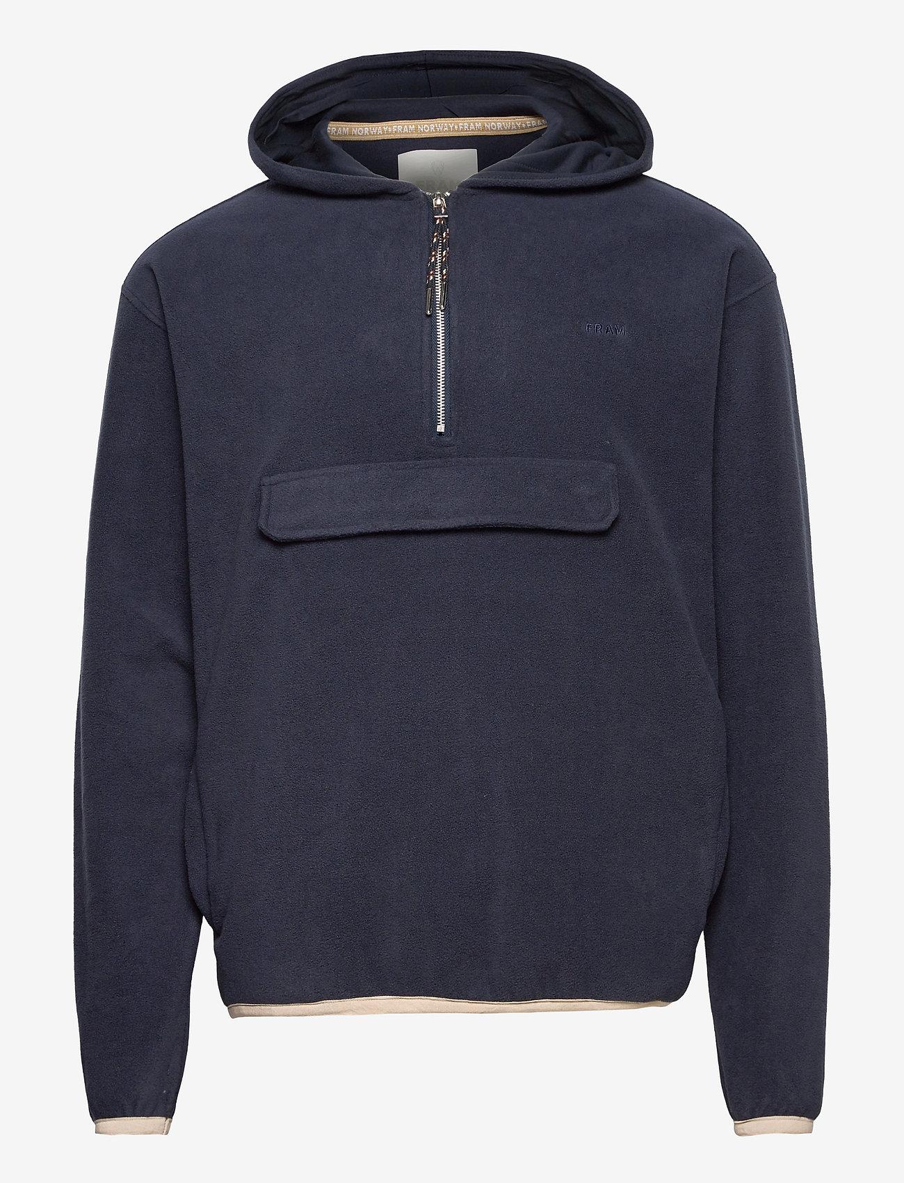 FRAM - Edgar Fleece Jacket - basic-sweatshirts - indian ink - 0
