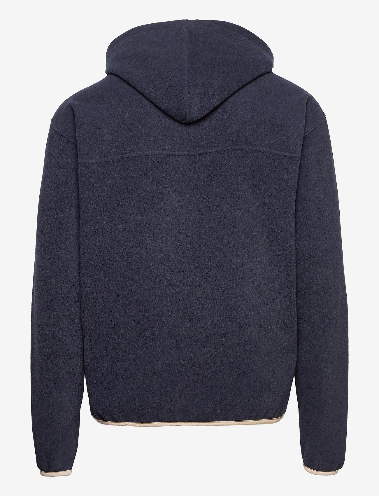 FRAM - Edgar Fleece Jacket - basic-sweatshirts - indian ink - 1