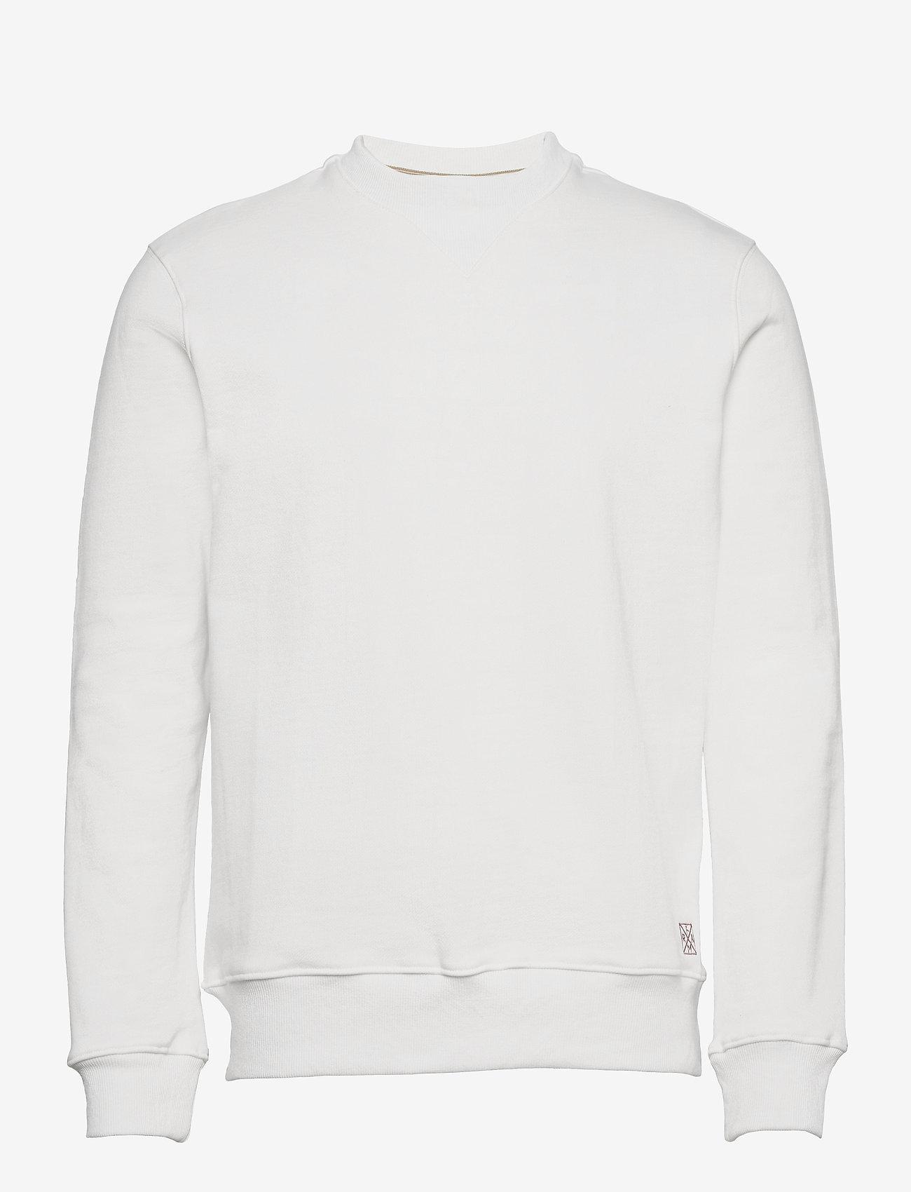 FRAM - Relay Crewneck - basic-sweatshirts - blanc de blanc - 0