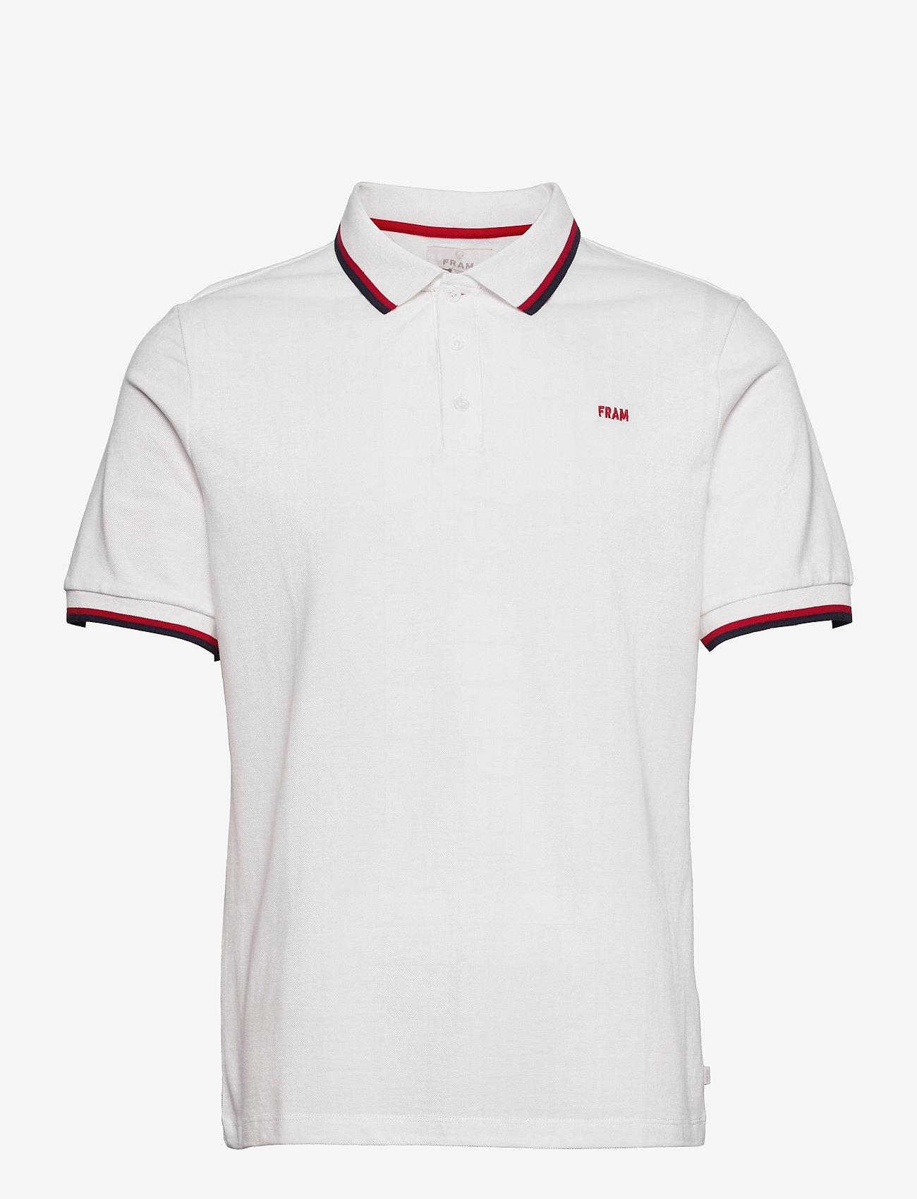 FRAM - Polo Piquet - kurzärmelig - blanc de blanc - 0