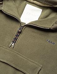 FRAM - Edgar Fleece Jacket - basic-sweatshirts - vetiver - 2