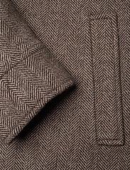 FRAM - League Jacket - wool jackets - potting soil - 4