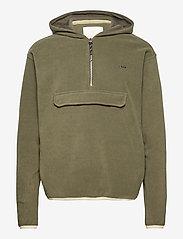 FRAM - Edgar Fleece Jacket - basic-sweatshirts - vetiver - 0