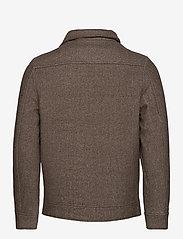 FRAM - League Jacket - wool jackets - potting soil - 2