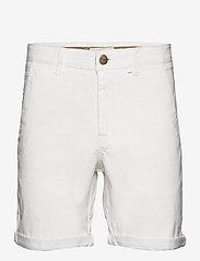 FRAM - Bygdøy Shorts - chinos shorts - blanc de blanc - 0