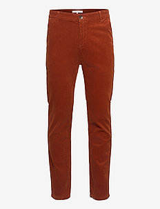 Oscar Cord Pant - regular jeans - auburn