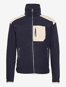 Donatello Fleece Jacket - mid layer-jakker - indian ink