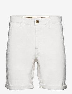 Bygdøy Shorts - chinos shorts - blanc de blanc