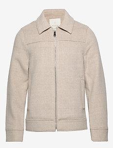 League Jacket - PINE BARK