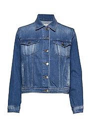 Le Vintage Jacket Jeansjacka Denimjacka Blå FRAME