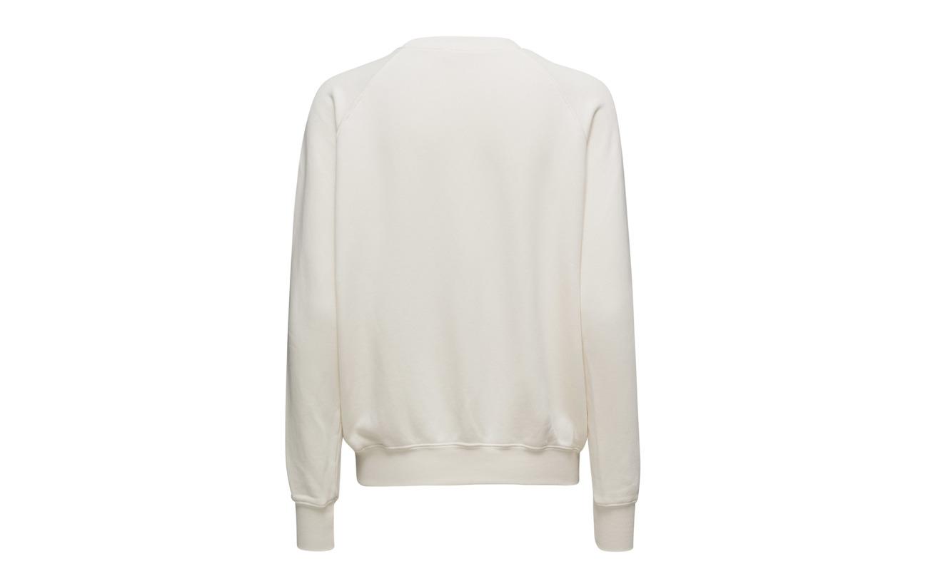 Off School Old White 100 Frame Coton Sweatshirt Uq1c80
