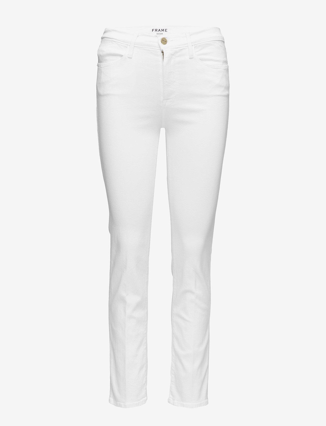 FRAME - LE HIGH STRAIGHT - straight jeans - blanc - 1