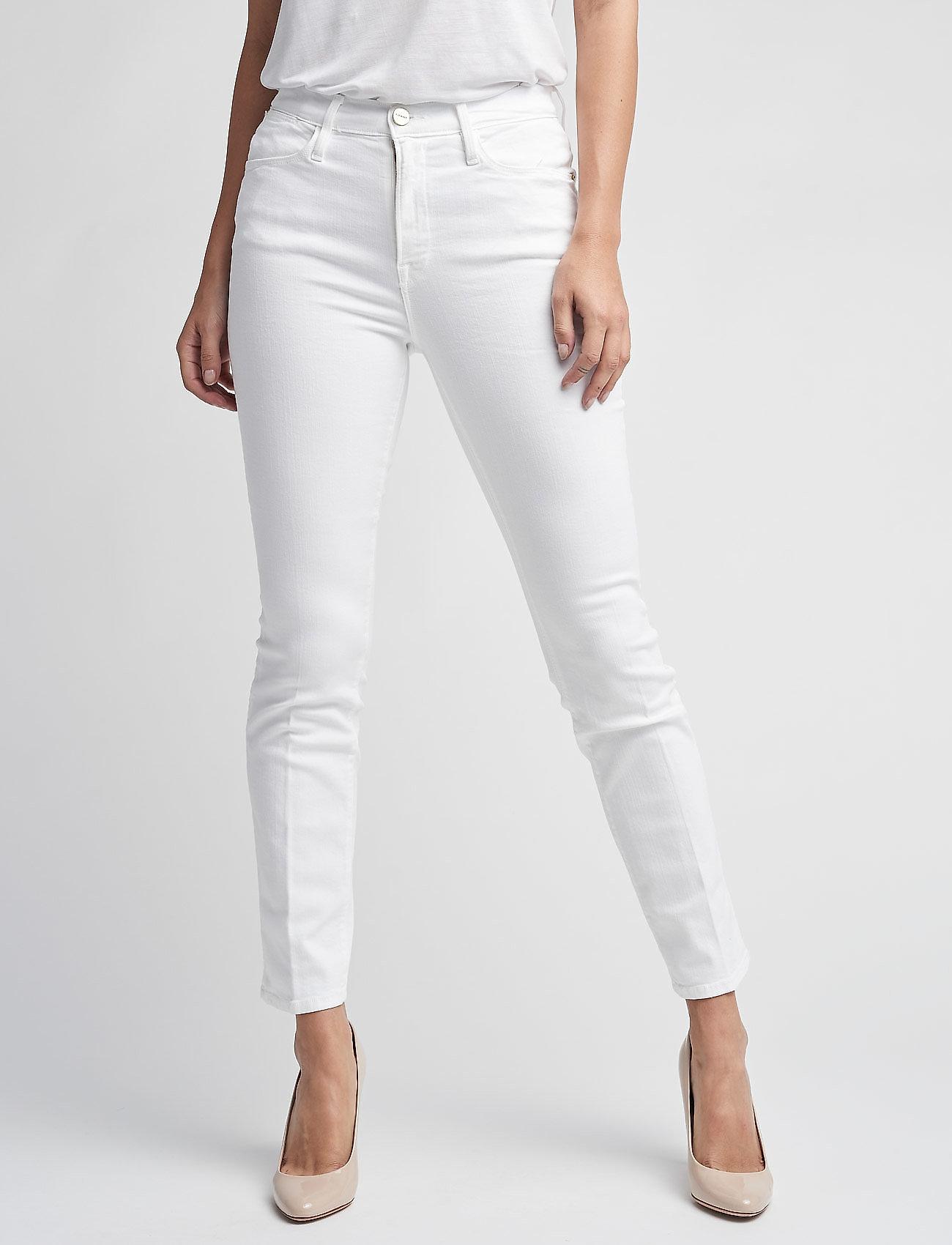 FRAME - LE HIGH STRAIGHT - straight jeans - blanc - 0