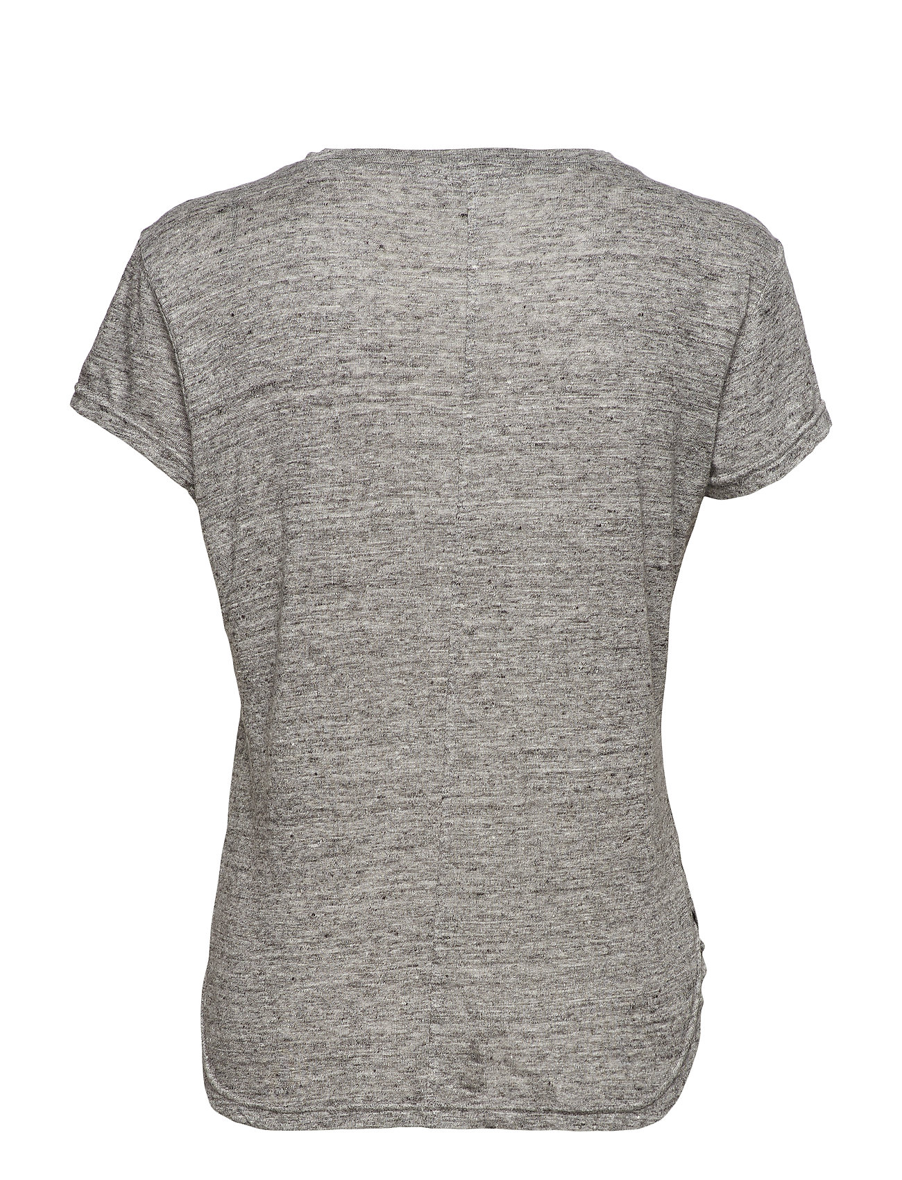 FRAME    CLASSIC LINEN CREW  - T-Shirts & Tops    GRIS
