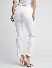 FRAME - LE HIGH STRAIGHT - straight jeans - blanc - 3