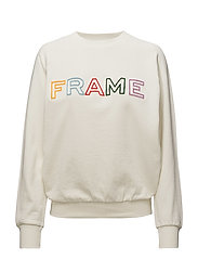 FRAME RAGLAN SWEAT - OFF WHITE